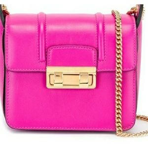 Handbags - LANVIN Fuschia Crosssbody Bag